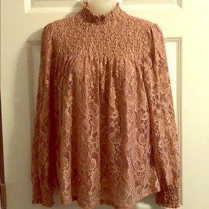 Size medium Cable & Gaige blouse
